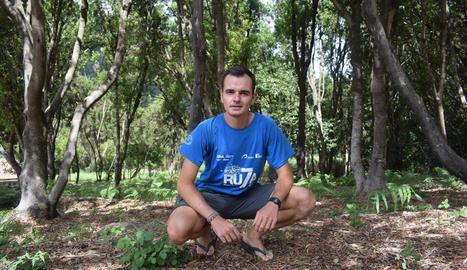Xabier Fabà, originari de Tremp, col·laborant a les Canàries.