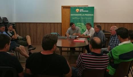 UP va organitzar una xarrada informativa a la Pobleta de Bellveí.