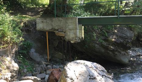 El pont de Pava a Bagergue.