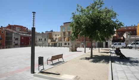 La plaça del Dipòsit.