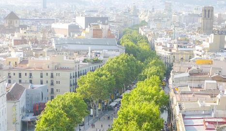 Fotografies de la Rambla de Barcelona, a càrrec de Toni Prim
