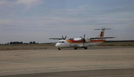 Alguaire tanca la temporada de vols d'estiu amb un lleuger augment de viatgers