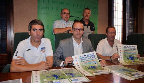 L'organització va presentar ahir la setena edició del torneig.
