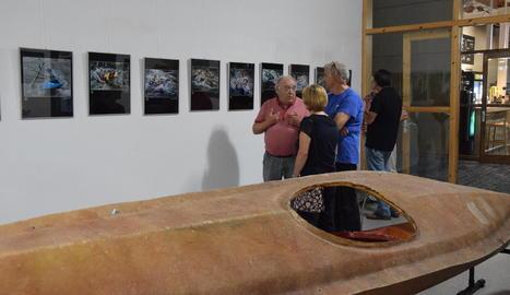 El centre cívic El Passeig acull l'exposició 'Photovisió 2017'.