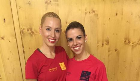 Noemí Isla i Mònica Gimeno començaran avui a competir als World Roller Games.