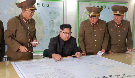 El líder nord-coreà, Kim Jong-un, en foto d'arxiu.
