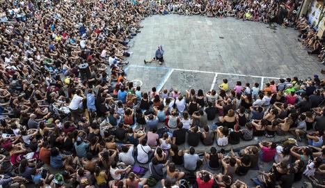 Un espectacle de l'última edició del certamen.