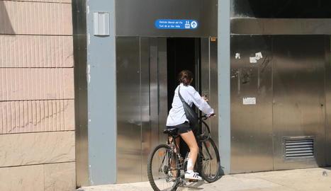 Nova avaria de l'ascensor d'ús públic de Sant Joan