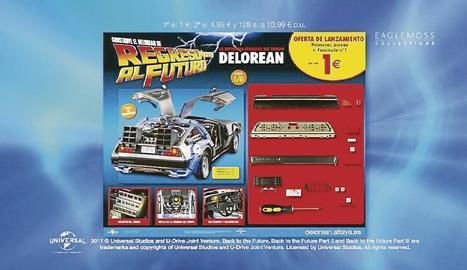 Un caríssim DeLorean per muntar.