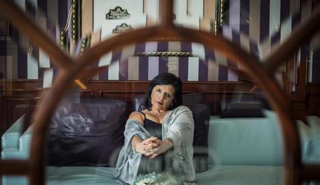 Pilar Abel, la dona que assegura que és filla de Salvador Dalí.