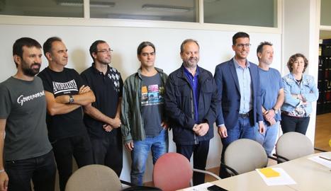 Ediles de los 4 grupos de la oposición que exigen la cesión de locales para el referéndum