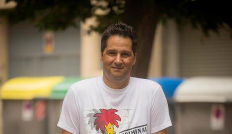 """Rafa Melero: """"Després dels atemptats em van ovacionar per ser Mosso en un acte literari"""""""