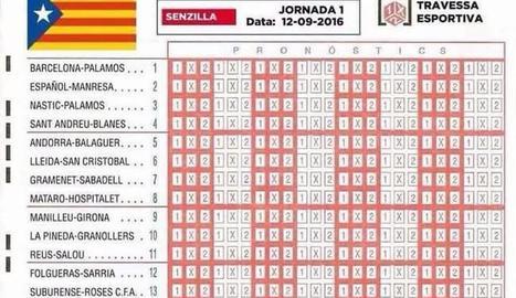 Aquí ho tenen: el Lleida, a la casella 6.
