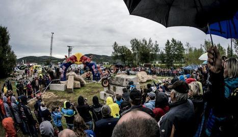 Sokolov acull la penúltima prova del Mundial de trial.
