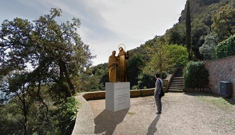 Recreació de com quedarà el monument, que s'inaugurarà la primavera del 2018.
