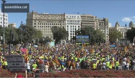 Directe de la manifestació