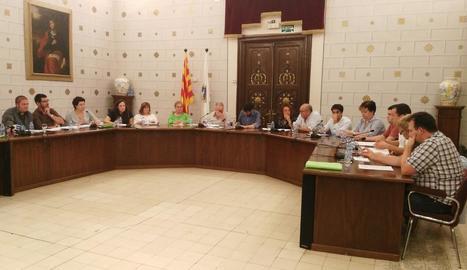 El ple celebrat ahir a la nit a la Seu d'Urgell.
