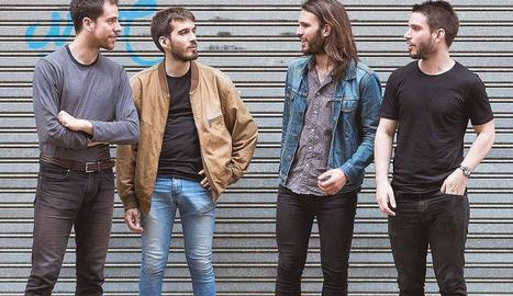El quartet lleidatà Foo, de rock psicodèlic.