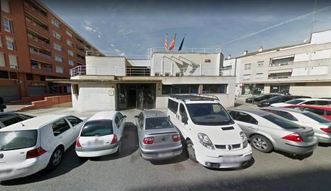 Imatge de la façana de la Inspecció de Treball a Lleida.