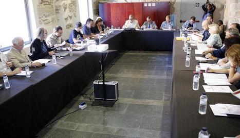 La reunió del consell municipal de patrimoni.