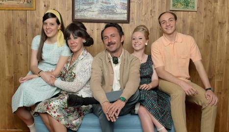 La família Vela-Cedena al complet.