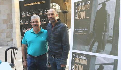 Llorenç González i Rafa Ariño van presentar el festival ahir a l'IEI.
