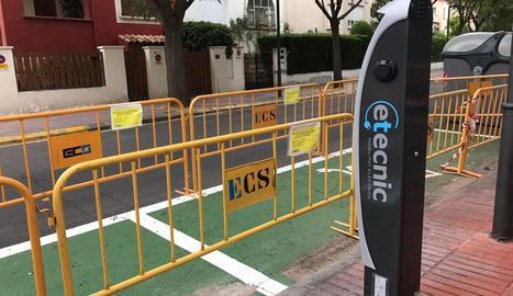 L'estació de recàrrega de vehicles elèctrics de Magí Morera.