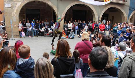 Espectacle d'acrobàcies 'Bufonades'.