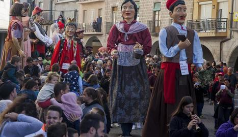 El conseller Jordi Turull va ser el pregoner de la festa major de Puigverd d'Agramunt.