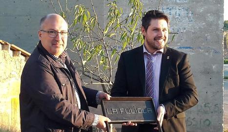 El parc botànic de Vilagrassa tindrà cinc-cents ametllers i una aula pedagògica