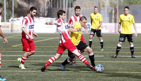 El Lleida Esportiu B va mostrar la seua millor versió amb un gran joc col·lectiu per superar el Valls.