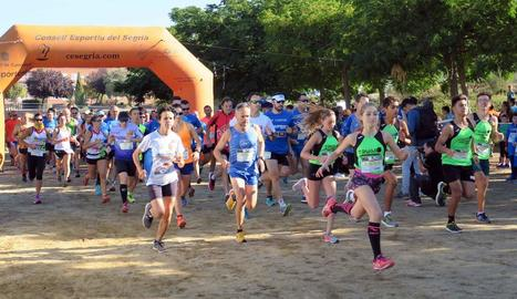 La Cursa Aspros va acollir més de 600 participants en les diferents modalitats.
