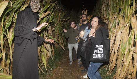 Un dels zombis que es van trobar els agosarats participants.