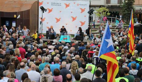 Acte d'Òmnium a Lleida