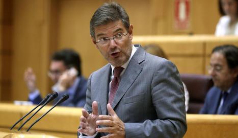 El ministre de Justícia, Rafel Català.