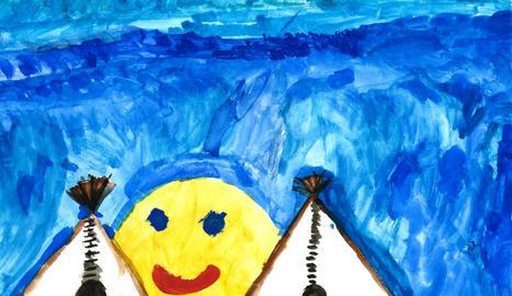 Dibuix de Dani Leal, de 6 anys, un dels guanyadors.