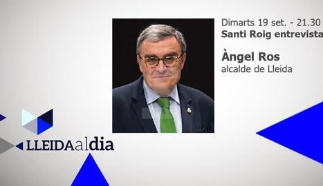 Àngel Ros, protagonista aquesta nit a Lleida al dia
