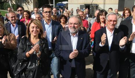 Joan Reñé i Rosa Pujol entren als jutjats.