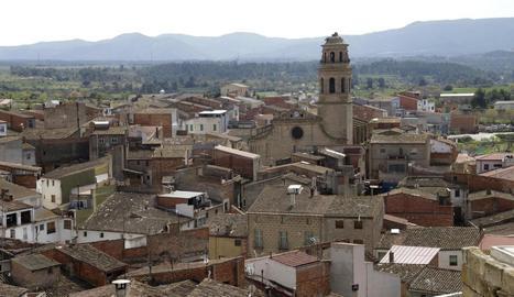 Imatge d'arxiu del poble de l'Albi.