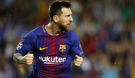 Leo Messi continua batent rècords amb la samarreta del FC Barcelona.