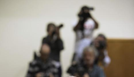 El lehendakari, Iñigo Urkullu, al ple del Parlament basc.