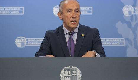 El portaveu del Govern basc, Josu Erkoreka.