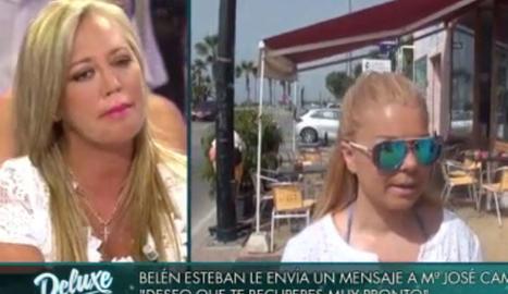 Belén Esteban, a l'ull de l'huracà.
