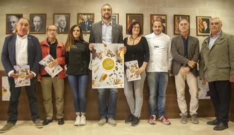 La presentació de la Fira del Torró va tenir lloc ahir a l'ajuntament de la localitat.