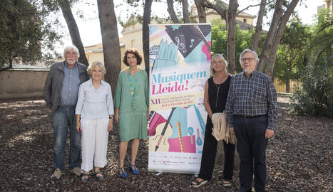 La presentació del Musiquem Lleida