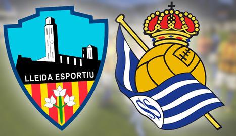 El Lleida s'enfrontarà a la Reial Societat a la Copa del Rei