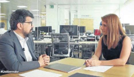 Lleida TV estrena la nova temporada de 'Lleida en valor' amb Núria Sirvent