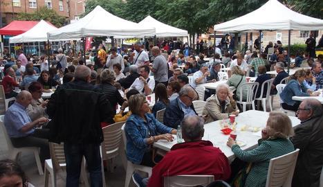 Alguns participants a Lo Vermutet de Mollerussa.