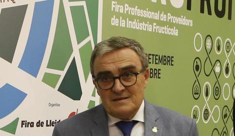 L'alcalde de Lleida, Àngel Ros.