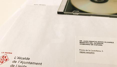 Àngel Ros envia els vídeos de les càrregues al ministre Zoido